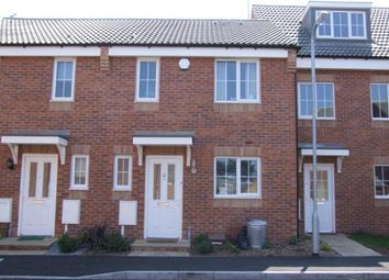 Thumbnail 3 bed terraced house to rent in Lacemakers Court, Rushden