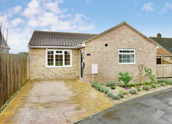 Thumbnail 2 bed detached bungalow for sale in Mill Road, Hartford, Huntingdon.