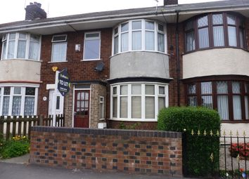 Thumbnail 2 bed terraced house to rent in Southcoates Lane, Hull