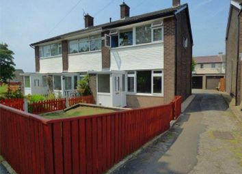 Thumbnail 3 bed terraced house for sale in Brookside Close, Hadfield