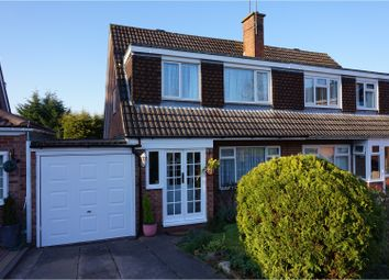 Thumbnail 3 bed semi-detached house for sale in Canterbury Close, Studley