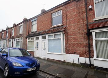 Thumbnail 2 bed terraced house for sale in Major Street, Darlington