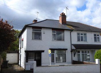 Thumbnail 3 bedroom semi-detached house for sale in Tennyson Road, Woodthorpe, Nottingham
