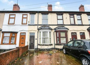 Thumbnail 2 bedroom terraced house for sale in Darlaston Road, Walsall, West Midlands