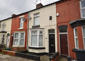 Thumbnail 2 bedroom terraced house to rent in Beechwood Road, Liverpool