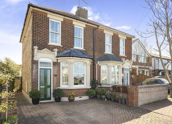 Thumbnail 2 bed semi-detached house for sale in Rosebery Road, Chatham