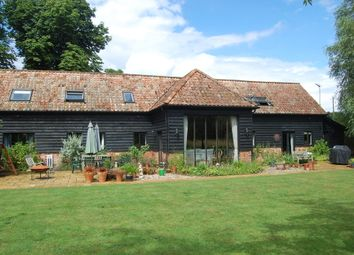 Thumbnail 5 bed barn conversion for sale in Cretingham, Woodbridge