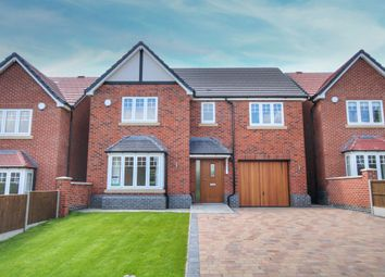 Thumbnail 4 bedroom detached house for sale in Loscoe Denby Lane, Loscoe, Heanor