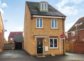 Thumbnail 3 bed detached house for sale in Kay Grove, Oakridge Park, Milton Keynes