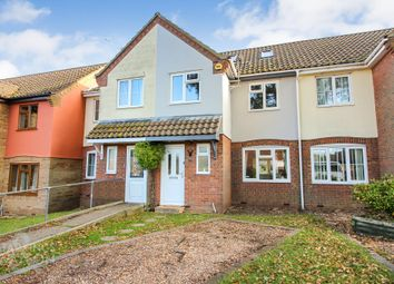 Thumbnail 4 bed terraced house for sale in Mirbecks Close, Worlingham, Beccles