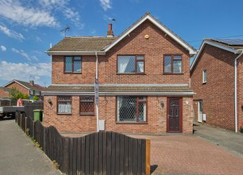 Meadow Close, Stoney Stanton, Leicester LE9. 4 bed detached house for sale