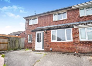 Thumbnail 3 bedroom semi-detached house for sale in Fulmar Close, St Mellons, Cardiff