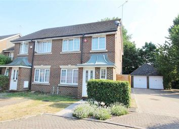 Thumbnail 3 bed semi-detached house for sale in Powys Court, Borehamwood, Herts
