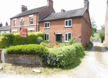 Thumbnail 3 bed cottage for sale in Englesea Brook Lane, Englesea Brook, Crewe, Cheshire