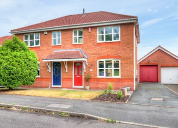 Thumbnail 3 bed semi-detached house for sale in Hyacinth Road, Stoke-On-Trent