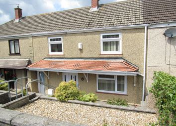 Thumbnail 3 bed terraced house for sale in Colwyn Avenue, Winch Wen, Swansea, City And County Of Swansea.