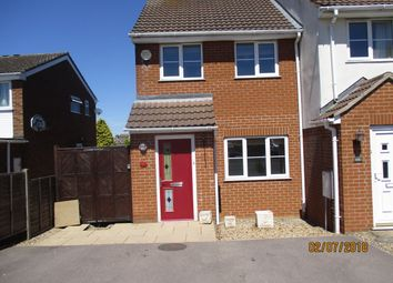 Thumbnail 3 bedroom end terrace house to rent in Welland Way, Oakham