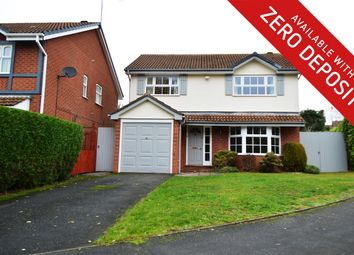 Thumbnail 4 bed detached house to rent in Fairways Drive, Blackwell, Bromsgrove