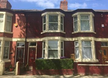Thumbnail 3 bedroom terraced house for sale in Stanley Park Avenue South, Walton, Liverpool