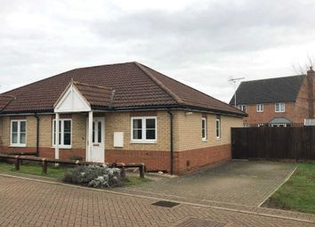 Thumbnail 2 bed semi-detached house for sale in Riverbank Close, March