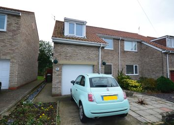 Thumbnail 3 bed semi-detached house for sale in The Grove, Seamer, Scarborough