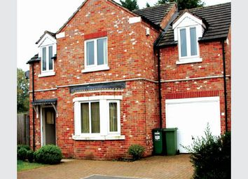 Thumbnail 4 bed detached house for sale in Howards Court, Kirby Muxloe, Leicester