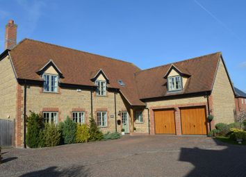 Thumbnail 5 bed detached house for sale in North Green, West Hanney, Wantage
