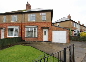 Thumbnail 2 bedroom semi-detached house for sale in The Crossway, Darlington