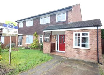 Thumbnail 4 bed semi-detached house to rent in Poynes Road, Horley