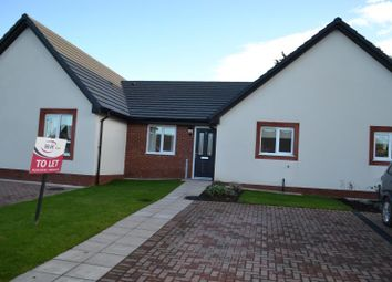 Thumbnail 2 bed semi-detached bungalow to rent in Oak Avenue, The Oaks, Longtown