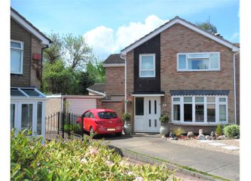 Thumbnail 4 bed detached house for sale in Wilshere Close, Kirby Muxloe, Leicester