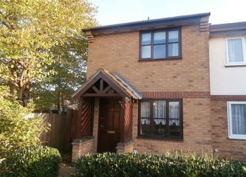 Thumbnail 2 bed semi-detached house to rent in Churchlands, Loughborough
