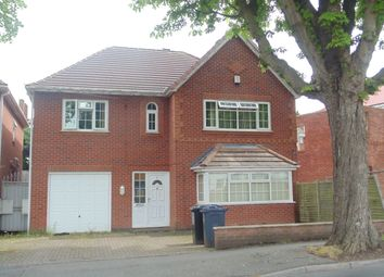 Thumbnail 4 bed detached house for sale in Gibson Road, Birmingham