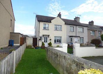 Thumbnail 3 bed end terrace house for sale in Bron Y Garth, Caernarfon, Gwynedd