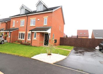 Thumbnail 4 bed semi-detached house for sale in Old Mill Lane, Worsley, Manchester