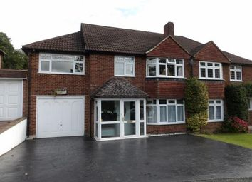 Thumbnail 5 bed semi-detached house for sale in Gravel Hill, South Croydon, Surrey