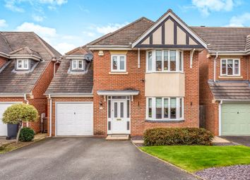 Thumbnail 4 bed detached house for sale in Alvis Dale, Rothley, Leicester