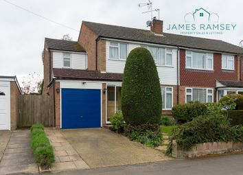 Thumbnail 4 bed semi-detached house for sale in Fletcher Road, Ottershaw