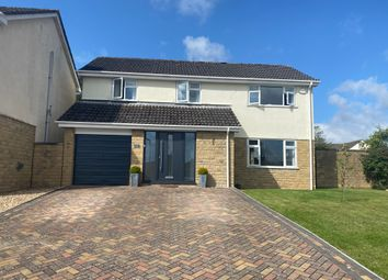 Thumbnail 4 bed detached house to rent in Daws Mead, Taunton