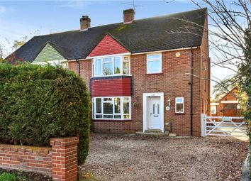 Thumbnail 4 bed semi-detached house for sale in Coleford Bridge Road, Mytchett, Camberley, Surrey