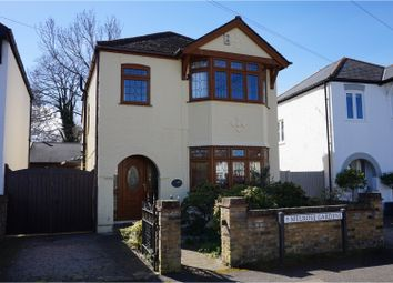 Thumbnail 3 bed detached house for sale in Melrose Gardens, Hersham