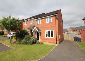 Thumbnail 3 bed semi-detached house for sale in Torside Grove, Brindley Village, Stoke-On-Trent