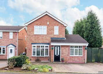 Thumbnail 3 bed detached house for sale in Loughshaw, Wilnecote, Tamworth
