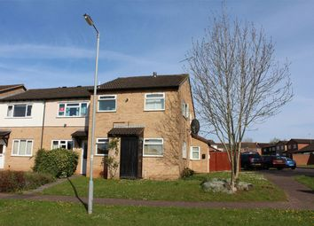 Thumbnail 1 bed end terrace house for sale in Woodrush Close, Taunton