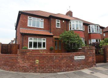 Thumbnail 5 bed semi-detached house for sale in Elton Road, Darlington