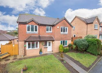 Thumbnail 4 bedroom detached house for sale in Willow Close, Aller Park, Newton Abbot, Devon.