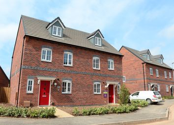 Thumbnail 3 bed semi-detached house for sale in Coventry Road, Rugby