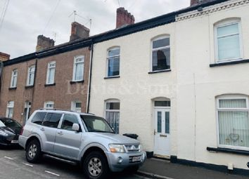 Thumbnail 4 bedroom terraced house for sale in Glebe Street, Newport, Gwent .