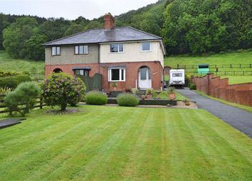 Thumbnail 3 bed semi-detached house for sale in Woodlands, Abermule, Montgomery, Powys