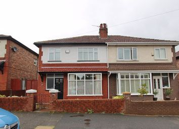 Thumbnail 3 bed semi-detached house for sale in Grosvenor Road, Whitefield, Manchester